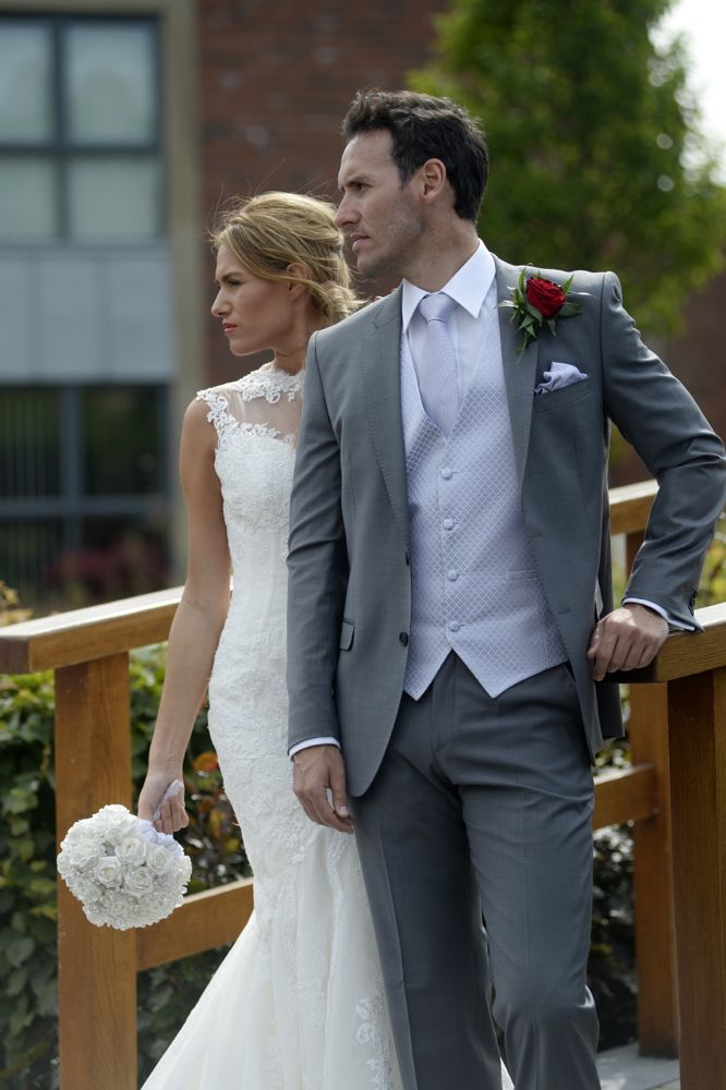 Grey Wedding Suit What Shoes